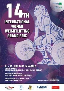 14th International Women Weightlifting Grand Prix 2017
