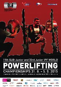 15. a 33. Mistrovství světa v silovém trojboji dorostu a juniorů