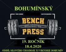 19. ročník Bohumínského benchpressu
