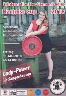 2. Internationaler German Ladies Hartdisc Cup