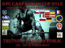2. Karpatský pohár v silovém trojboji, benchpressu a mrtvém tahu