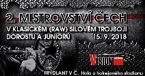 2. Mistrovství Čech v klasickém (RAW) silovém trojboji dorostu a juniorů