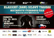 2. Mistrovství Východních Čech v klasickém (RAW) silovém trojboji