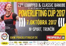 22. Dunajský pohár v silovém trojboji