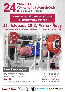24. Mistrovství Východních Čech v silovém trojboji mužů a žen