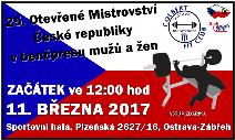 25. Otevřené Mistrovství ČR v benčpresu mužů a žen