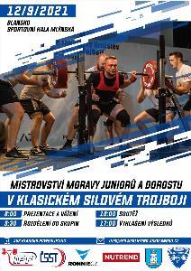 5. Mistrovství Moravy v klasickém (RAW) silovém trojboji dorostu a juniorů