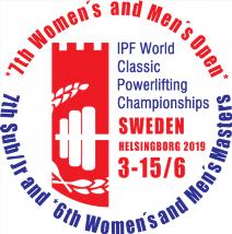 7. Mistrovství světa v klasickém (RAW) silovém trojboji dorostu, juniorů, mužů, žen a masters