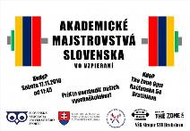 Akademické Majstrovstvá Slovenska vo vzpieraní