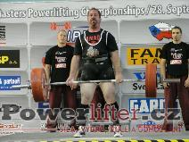 Andy Childs, CAN, 280kg