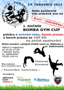Bomba Gym Cup 2012