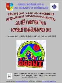 Bořislavský GIGANT v pozvedu 2013