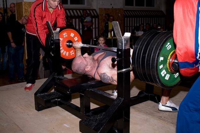 Bruno Walter - 1. místo do 100 kg