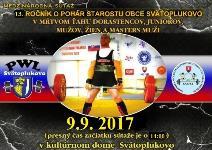 Cedron Cup 2017 - 13. ročník súťaže o pohár starostu v mŕtvom ťahu