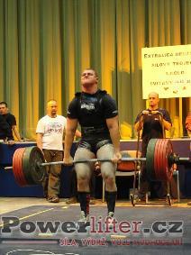 David Lupač, mrtvý tah 330kg