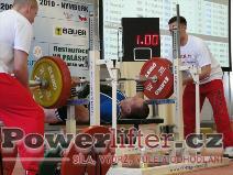 David Sluštík, 205kg