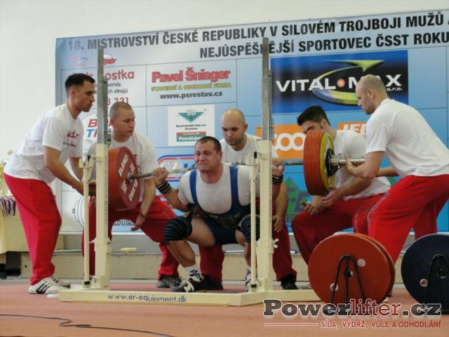 David Sluštík, 260kg