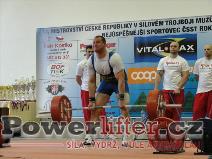 David Sluštík, 275kg