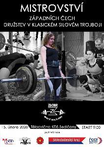 1. Mistrovství Západních Čech v klasickém (RAW) silovém trojboji družstev