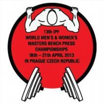 13. Mistrovství světa v benčpresu mužů a žen Masters