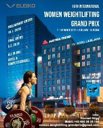 16th International Women Weightlifting Grand Prix 2019