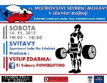 24. Mistrovství Severní Moravy v silovém trojboji mužů a žen