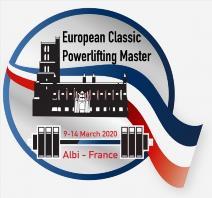 3. Mistrovství Evropy v klasickém (RAW) silovém trojboji masters