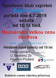 3. ročník Mezinárodní VC Havířova ve vzpírání