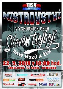 5. Mistrovství Východních Čech v klasickém (RAW) silovém trojboji
