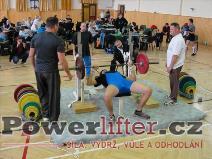Lubomír Novák, benč 75kg