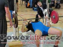 Lubomír Novák, benč 80kg