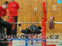 Lukáš Tkadlec, 135kg