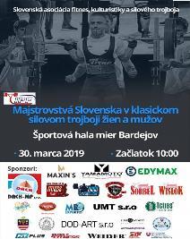 Majstrovstvá Slovenska v klasickom (RAW) silovom trojboji mužov a žien