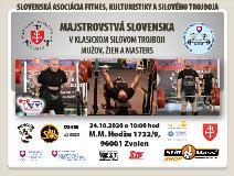 Majstrovstvá Slovenska v klasickom (RAW) silovom trojboji mužov, žien a masters