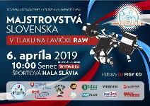 Majstrovstvá Slovenska v klasickom (RAW) tlaku na lavičke dorastencov, juniorov, mužov, žien a masters