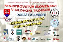 Majstrovstvá Slovenska v silovom trojboji dorastencov a juniorov