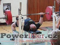 Martin Šumbera, benč 230kg