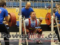 Michal Krček, dřep 280kg