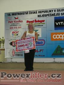 Nejlepší sportovkyně - Jana Hrabalová