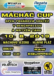 OPEN POHÁROVÁ SOUTĚŽ V BENCHPRESSU A MRTVÉM TAHU - MACHÁČ CUP 2019