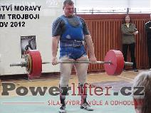 Pavel Kaňák, mrtvý tah 300kg