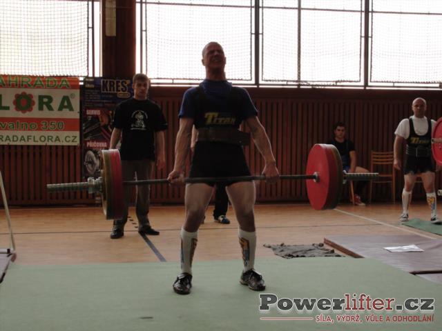 René Hoza, mrtvý tah 160kg