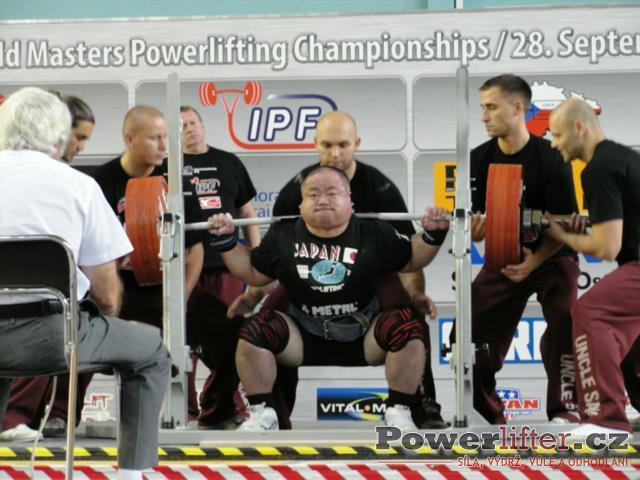 Shigeki Minami, JPN, 280kg