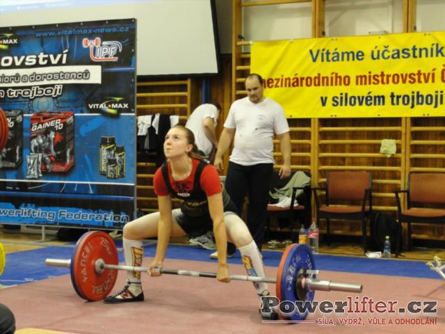 Simona Vráblová, 120kg, SK