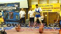 Martin Kozák, 280kg