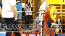 Filip Sobotka, benč 156kg, dorostenec do 93kg