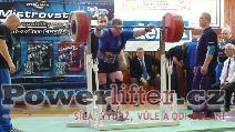 Josef Máška, 262,5kg