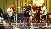 Jan Pinc, dřep 300kg
