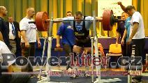 Jiří Gryga, dřep 300kg
