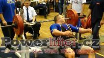 Jiří Gryga, benč 180kg